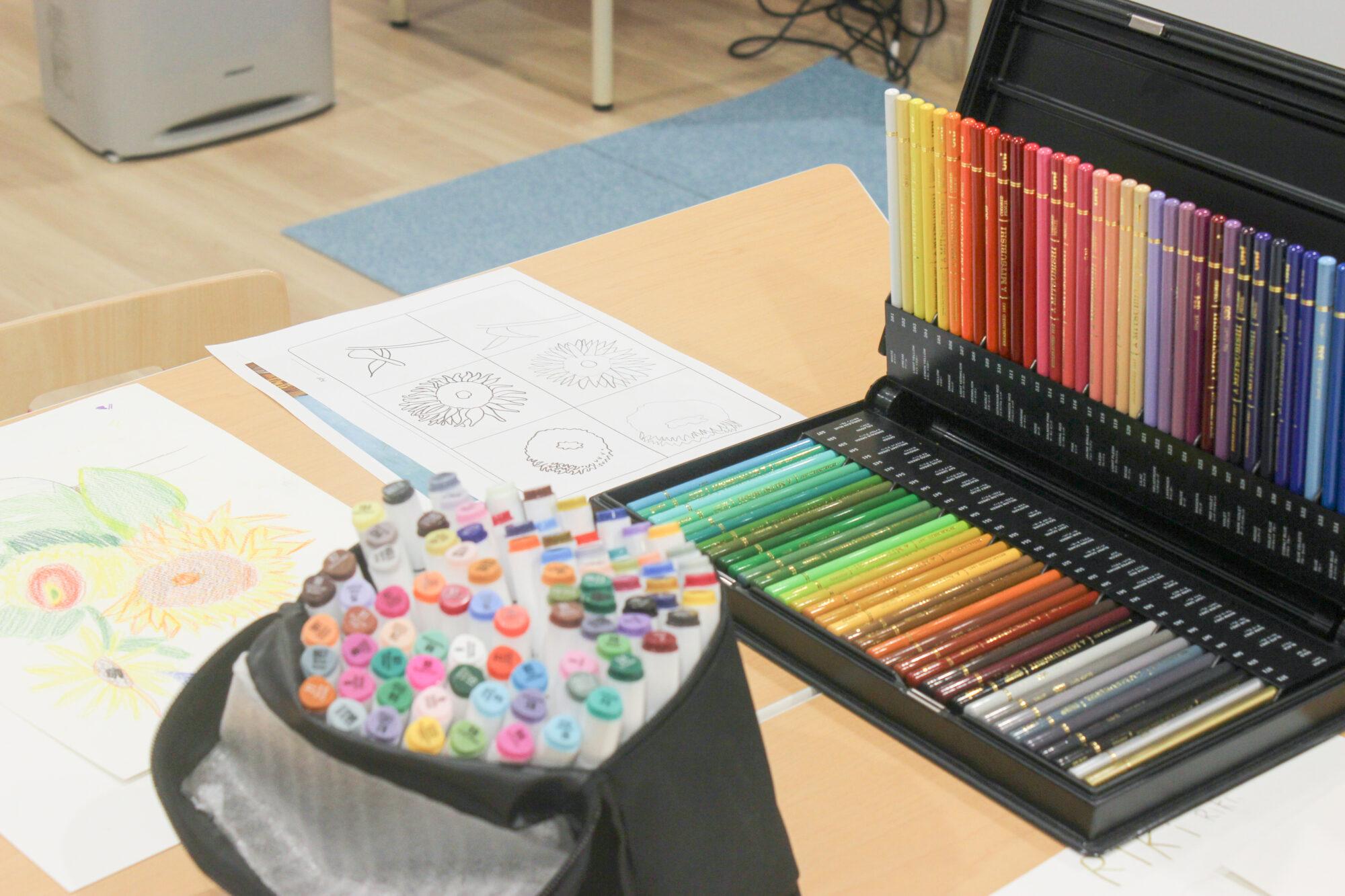 民間学童 英語でお絵描きカリキュラム