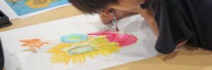 民間学童 英語でお絵描き カリキュラム